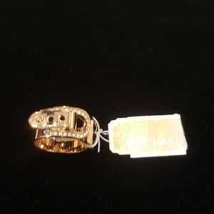 Michael Kors CityScape Crystal Ring NWT